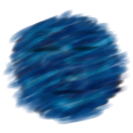 face-blue