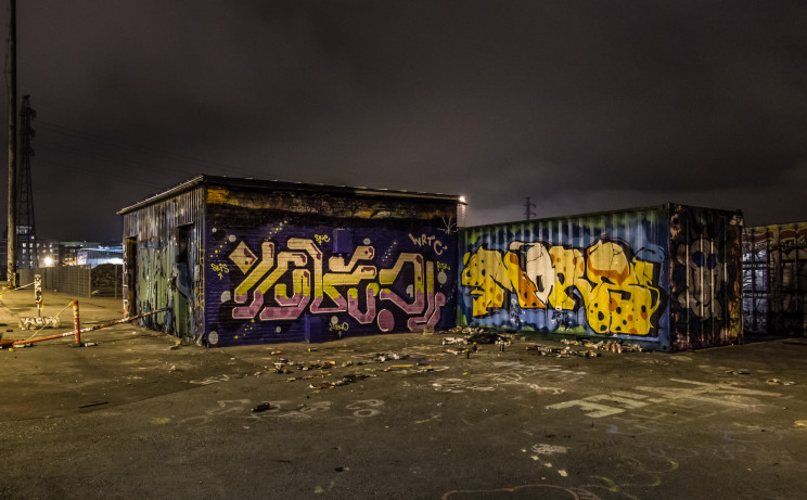 Graffiti Containers